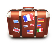 Abstract case travel Royalty Free Stock Image