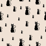 Abstract Cats Royalty Free Stock Images