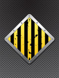 Abstract caution background Stock Images