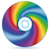 Abstract CD Royalty Free Stock Photography