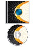 Abstract cd and cover design Royalty Free Stock Photo