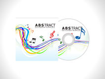 Abstract cd cover template. Vector illustration Royalty Free Stock Photos