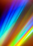 Abstract CD reflection background Stock Photography