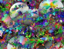 Abstract Cds Royalty Free Stock Photos