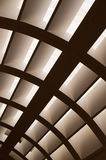 Abstract ceiling Stock Photo