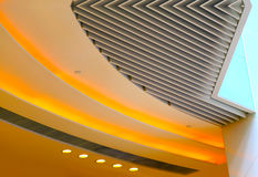 Abstract ceiling design royalty free stock images