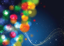 Abstract celebration background Stock Photography