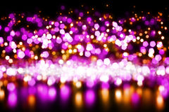 Abstract celebration background. Bright blurred colorful lights, party royalty free stock images