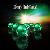 Abstract celebration background with Christmas dec Royalty Free Stock Photography