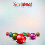 Abstract celebration background with Christmas decorations Stock Image