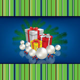 Abstract celebration background with Christmas gif Stock Photos