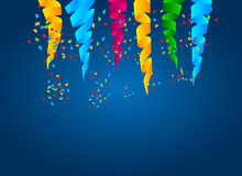 Abstract celebration background Stock Images