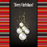 Abstract celebration background with white Christm Royalty Free Stock Photography