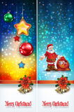 Abstract celebration greetings with Christmas illustrative eleme Stock Photo