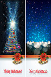 Abstract celebration greetings with Christmas illustrative eleme Royalty Free Stock Photography