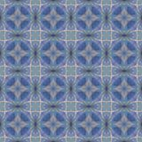 Abstract celestial blue seamless pattern. Skiey background. Stock Image