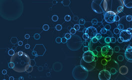 Abstract cell background. Medicine and science research  Royalty Free Stock Photography