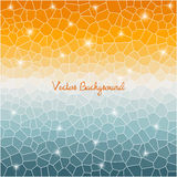Abstract cell triangle background. Royalty Free Stock Photography