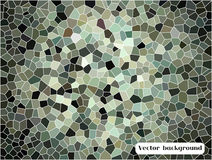 Abstract cell triangle background. Stock Images