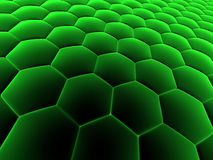 Abstract cells Royalty Free Stock Photography
