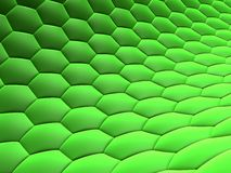 Abstract cells. 3d rendered illustration of abstract green cells Royalty Free Stock Photos