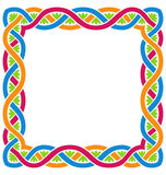 Abstract Celtic Weaving Framework Royalty Free Stock Photos