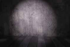 Abstract cement concrete wall gray in room interior vintage a Royalty Free Stock Image