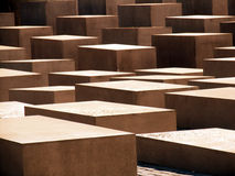 Abstract cement cubes. Cement cubes structure Stock Images