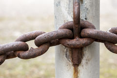 Abstract of chain links. royalty free stock image