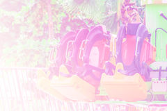 Abstract chair of player in the amusement park. Royalty Free Stock Photo