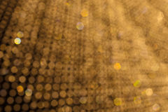 Abstract chandelier light bokeh pattern background Royalty Free Stock Images