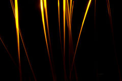Abstract chaos fire rays Stock Photos