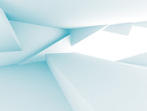 Abstract Chaotic Architecture Design Background Royalty Free Stock Photo