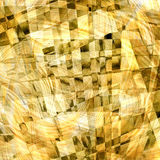 Abstract chaotic pattern with colorful curved lines Stock Photography