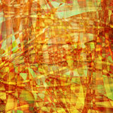 Abstract  chaotic pattern with colorful translucent curved Stock Photos