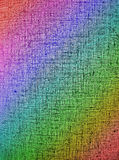 Abstract chaotic rainbow grid background texture Royalty Free Stock Image