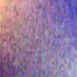 Abstract chaotic triangle pattern background - polygon vector graphic from colored triangles Stock Photos