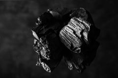 Abstract charcoal background Royalty Free Stock Photo