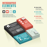Abstract chart infographics Royalty Free Stock Photography