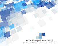 Abstract checked pattern Stock Image