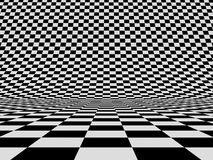 Abstract checker background Stock Photography