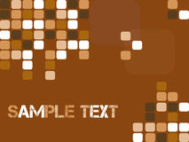 Abstract checker background. Modern background with pixel design Royalty Free Stock Photography