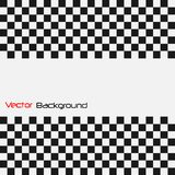 Abstract Checker Background. Abstract Checker Vector Illustration Background royalty free illustration