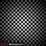 Abstract Checker Pattern Vector Background. Dark Abstract Checkered Vector Background royalty free illustration