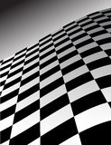 Abstract Checker Wave Background. This is an abstract checker board pattern as a wave - vector illustration Stock Photography