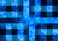 Abstract checkerboard  pattern wallpaper Stock Images
