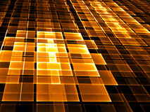 Abstract checkered background -  digitally generated image Royalty Free Stock Photography