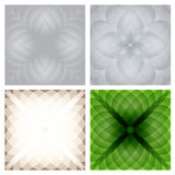 Abstract checkered background set. Royalty Free Stock Images