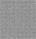 Abstract checkered black and white background with blots Stock Photography