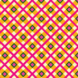 Abstract Checkered fa seamless background Royalty Free Stock Photography